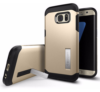Spigen Tough Armor Samsung Galaxy S7 Edge Goud