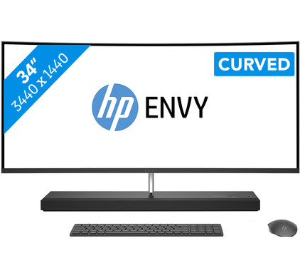 HP Envy Curved All-in-One 34-b024nb Azerty