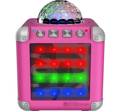 iDance Audio Mini Cube 3 CM-3 Roze