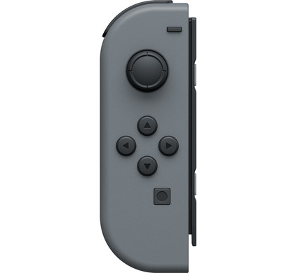 Nintendo Switch Joy-Con Grijs Links