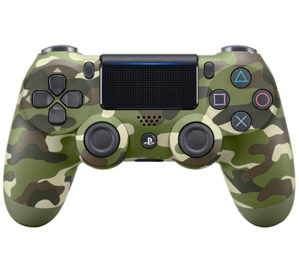 Sony DualShock 4 Controller PS4 V2 Groen Camo