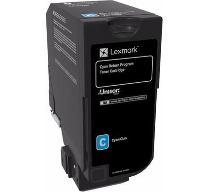 Lexmark C72x Cyaan (74C20C0)