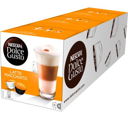 Dolce Gusto Latte Macchiato Lot de 3