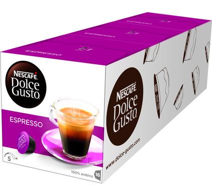 Dolce Gusto Espresso Lot de 3