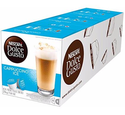 Dolce Gusto Cappuccino Ice lot de 3