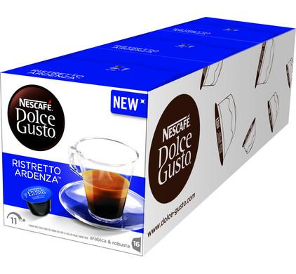 Dolce Gusto Espresso Ristretto Ardenza lot de 3