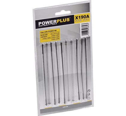 Powerplus POWX190A Figuurzaagbladenset voor POWX190
