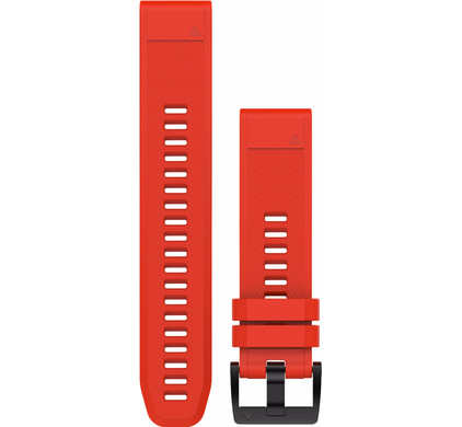 Garmin QuickFit 22mm Rubber Horlogeband Rood