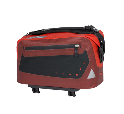 Ortlieb Trunk-Bag Dark-Chili/Signal-Red