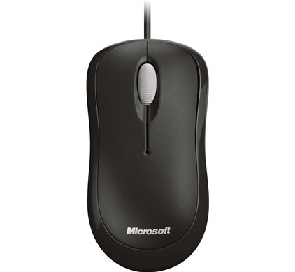 Microsoft Basic Optical Mouse Zwart