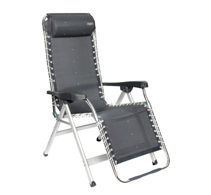 Crespo Relaxstoel AL-232 Donker Grijs