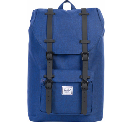 befebe2f538 Herschel Little America Mid-Volume Eclipse Crosshatch   Black - Coolblue -  Before 23 59
