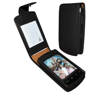Piel Frama Leather Case BlackBerry Storm + Screenprotector