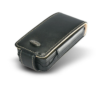K4Mobile Leather Case Blackberry Storm + Screenprotector