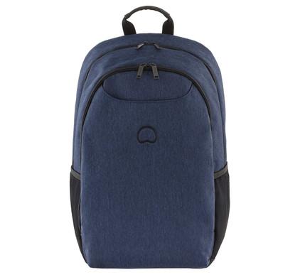 """Delsey Esplanade 2-CPT Backpack 15,6"""" Blue"""