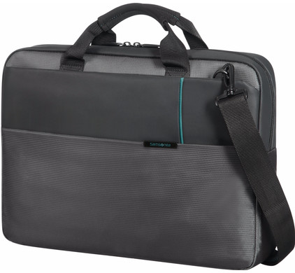 "Samsonite Qibyte Schoudertas 15,6"" Antraciet"