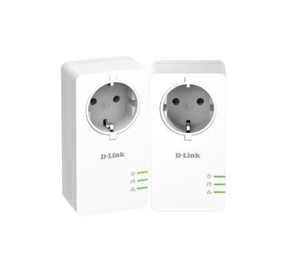 D-Link DHP-P601AV Geen WiFi 1000 Mbps 2 adapters
