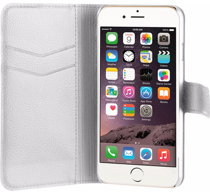 Xqisit Slim Wallet Apple iPhone 7/8 Wit