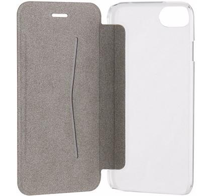 Xqisit Adour Flap Cover Apple iPhone 7/8 Zwart