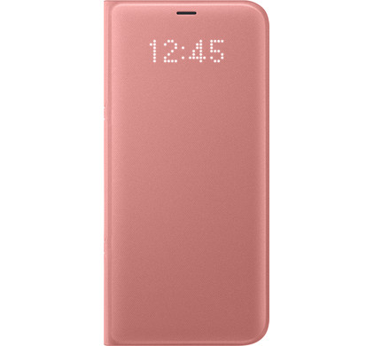 new arrival 009fd 0646e Samsung Galaxy S8 Plus LED View Cover Pink