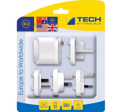 Travel Blue Europa Adapter - Wereldwijd