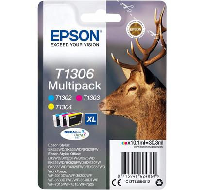 Epson T1306 XL 3 Color Multipack (C13T130640)