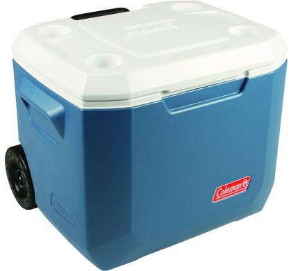 Coleman 50 Qt Xtreme Wheeled Cooler Blue