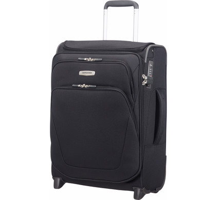Samsonite Spark SNG Expandable Upright Toppocket 55cm Black
