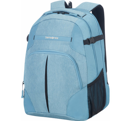 Samsonite Rewind Laptop Expandable Backpack L Ice Blue