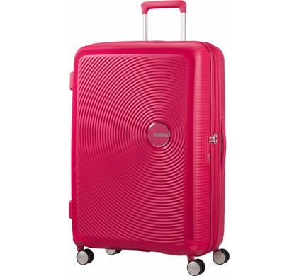 American Tourister Soundbox Expandable Spinner 77cm Lightning Pink