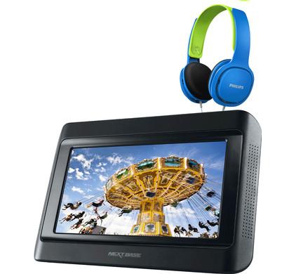Nextbase Click 9 Lite Uno + Philips SHK2000 Blauw