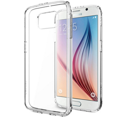 Spigen Ultra Hybrid Samsung Galaxy S6 Transparant