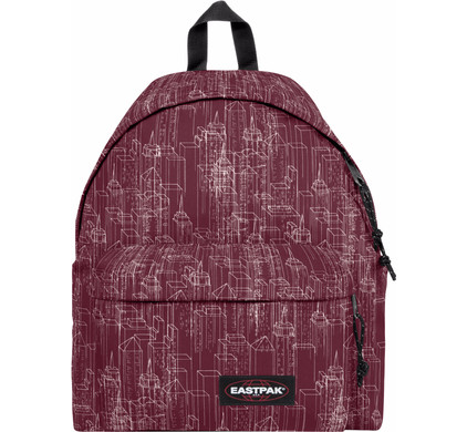 Eastpak Padded Pak'R Merlot Blocks