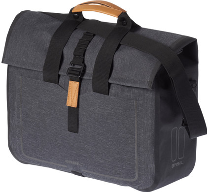 Basil Urban Dry Business Bag 20L Charcoal Zwart
