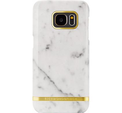 Richmond & Finch Marble Glossy Samsung Galaxy S7 Wit