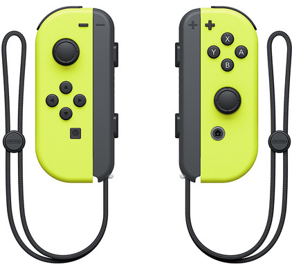 Nintendo Switch Joy-Con set Geel