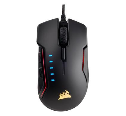 Corsair Glaive Gaming Muis Zwart