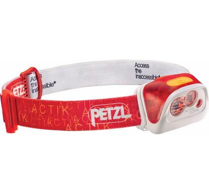 Petzl Actik 350 Rood + Oplaadbare Batterij