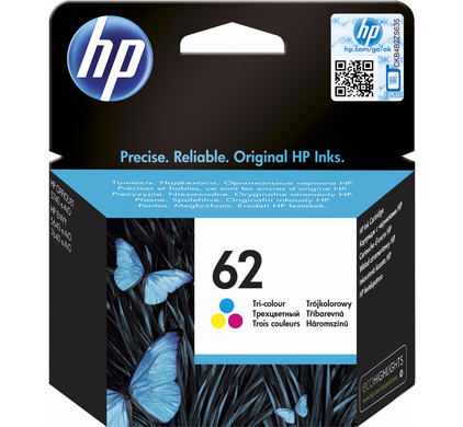 HP 62 Cartridge 3-Kleuren (C2P06AE)
