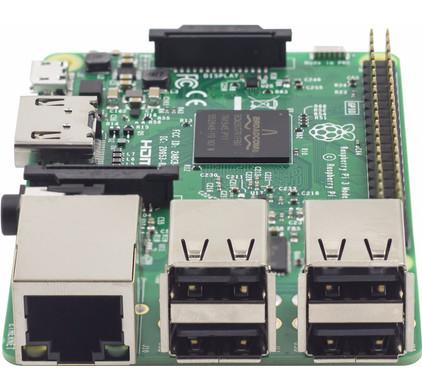 47451c591c2e0c Raspberry Pi 3 Model B - Coolblue - avant 23 59, demain chez vous