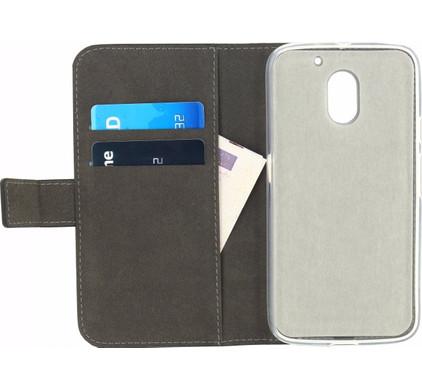 Mobilize Gelly Wallet Book Case Motorola Moto E (Gen 3) Zwart