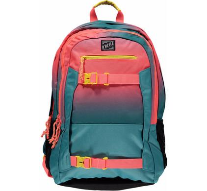 O'Neil BM Boarder Backpack Pink AOP Green