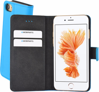 Mobiparts Premium Wallet Case Apple iPhone 7/8 Blauw
