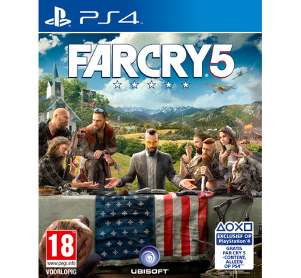 Far Cry 5 Standard Edition PS4