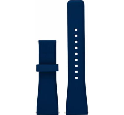 Michael Kors 22mm Kunststof Horlogeband Blauw