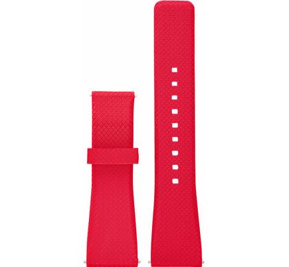 Michael Kors 22mm Kunststof Horlogband Rood