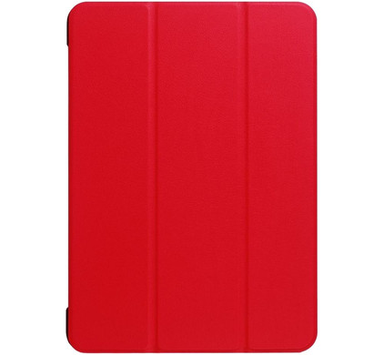 Just in Case Apple iPad Pro 10,5 inch Tri-Fold Hoes Rood