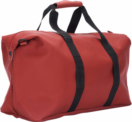 Rains Weekend Bag Rood