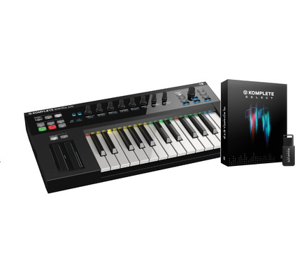 Native Instruments S25 + NI Komplete 11 Ultimate