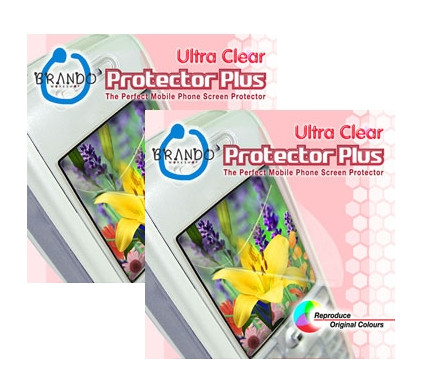 Brando Screenprotector Ultra Clear LG KC910 Renoir Duo Pack